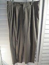 ARMANI Collezioni PANTS GRAY PLEATED Wool TROUSER Mens Italy SIZE 36/31.5