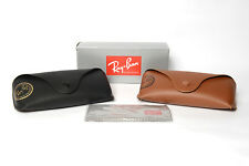RAY BAN Black/Brown Sunglasses CASE