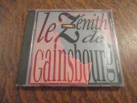 cd album le zenith de SERGE GAINSBOURG