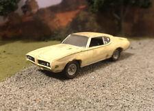 1969 Pontiac GTO Rusty Weathered Barn Find Custom 1/64 Diecast Car Farm Rust M2
