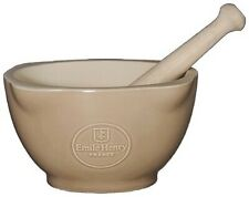 Emile Henry Mortar and Pestle - Oak