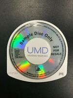 Monster Hunter Freedom Unite Trade Demo PSP UMD Sample Disc Only Not For Resale