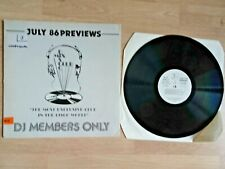 DJ Members Only Disco Mix Club July 86 Previews Vinyl Record LP DMC 42 1984