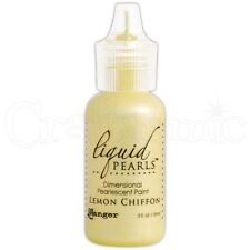 Ranger Liquid Pearls Pearlescent Paint LEMON CHIFFON 18ml