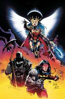 Dark Nights Death Metal #1 Foil Main Cover DC comic 1st Print 2020 unread NM