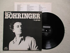 "LP 33T RICHARD BOHRINGER ""+ le groupe"" RIVIERA LM 910.032 FRANCE §"