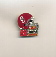 2008 Oklahoma Sooners Fiesta Bowl NCAA College Football Team Pin