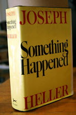 Something Happened by Joseph Heller 1974 HC/DJ 1st Edition 3rd Printing