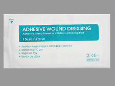 WOUND DRESSINGS 40 pcs size10cmx20cm FIRST AID STERILE ADHESIVE