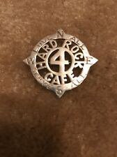 Hard Rock Cafe Sterling Silver 4 Year Anniversary Staff Pin Mint And Rare