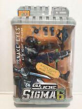 GI Joe Sigma 6 SNAKE EYES with Night Ops Gear