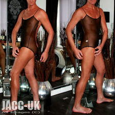 "NEW Mens S 30"" Unitard Leotard Body Dancewear BodySuit All In One Suit Run.500"