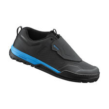 Shoes MTB Dh BMX Shimano For Pedal Flat GR9 Black/Blue Available 39 To 46