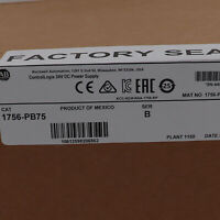 Allen-Bradley ControlLogix 24V DC Power Supply 1756-PB75 US Stock Factory Sealed