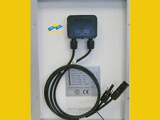 Panneau solair Cellule Solar 2x50 Watt 12V monocristallin Camping Éclairage PV