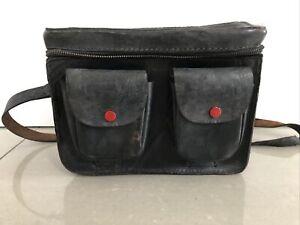 Vintage Leather Camera Rigid Bag/Case