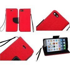 Fundas con tapa color principal rojo para teléfonos móviles y PDAs Apple