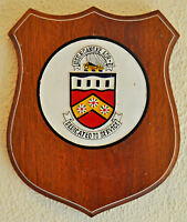 Large USS Roanoke shield plaque crest United States Navy USN ship