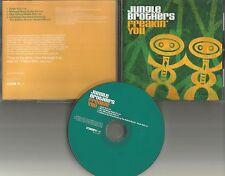 JUNGLE BROTHERS Freakin You 4TRX w/ RARE EDITS & REMIXES PROMO DJ CD Single 2000