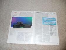Revox B-226s CD-Review, 2 PG, 1989, voll testen, technische Daten