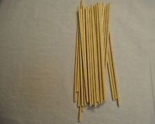 "100 Wood Dowell Rods Stick  Wooden Candy Lollipop Confectionary 12"" x 1/4 WED120"