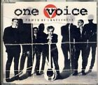 ONE VOICE - power of loneliness 2 trk MAXI CD 1992