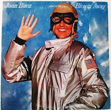 """Joan Baez """"Blowin' Away"""" LP Vinyl 1977 Record  PR 34697 (EX) Sketching"""
