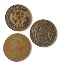 Lot 3 pièces Borneo Hong-kong et Straits Settlements. (AV1205)