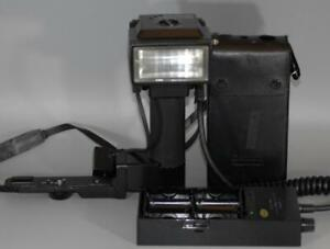 Canon 577G Handle Grip Flash with Battery Pack for A1 AE1 F1 T90 - Nice Ex++!