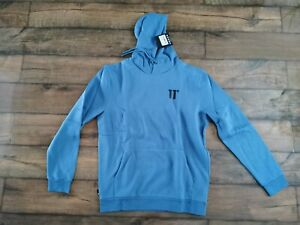 11 Degrees Core Pullover Hoodie Deep Water Blue Men's Size XXL BRAND NEW
