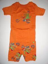 NWT Baby Gap 6-12 Alligator Motorcycle 2 Piece Pajamas New Orange