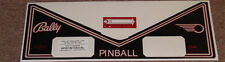 SPACE INVADERS Pinball Apron Decal Set LICENSED