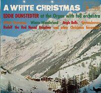 "A WHITE CHRISTMAS  Eddie Dunstedter 12"" Vinyl LP Album MFP 1174 EA"