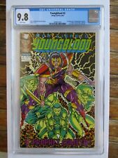 YOUNGBLOOD #2 CGC 9.8 White Pages (Green Version) 1st appearance of PROPHET