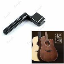 Black Acoustic Electric Guitar String Winder Peg Bridge Pin Plastic Tool