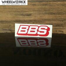 BBS Aufkleber Sticker Felgenaufkleber Rennsport Motorsport rot