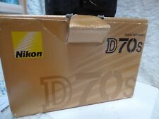 Nikon D70s DSLR Camera Body, Battery, genuine Charger, with Strap & Body cap