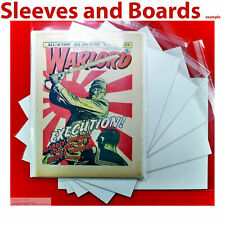 Warlord Comic Bags and Boards Acid Free Reseal/Tape Seal TALL Size4 A4+ x 10