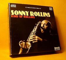 CD BOX Sonny Rollins Chet Kind Of Rollins 10xCD's 72TR 2009 Cool Jazz Hard Bop