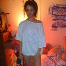 A Selena Gomez On A Bedroom Just A T-Shirt 8x10 Picture Celebrity Print