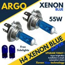 H4 Xenón Azul Hielo 55w Faro Bombillas & Libre Set 501 Luz Lateral T10 W5w 194