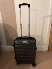 Samsonite Flylite DLX Cabin Luggage Hard Shell Silver Grey