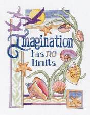Janlynn Cross Stitch Kit - Imagination Has No Limits