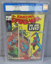 THE AMAZING SPIDER-MAN #89 (Old Label) CGC 7.0 FN/VF Marvel Comics 1970