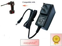 AC/DC Adapter For Air Hawk Pro Portable Automatic Cordless Tire Inflator AirHawk