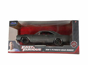 Fast & Furious Dom's Plymouth Road Runner by Jada Diecast Collectible 1/32 Scale