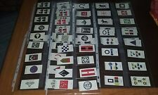 PLAYERS CIGARETTE Cards 1914-1918 Army Corp & Division Signs~