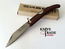 Okapi Big Sable Folding Pocket Knife KO19071 1055 Carbon Farmers Hunting EDC
