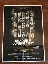 MANIFESTO,2F,E,Bianconeri,Juventus Story,CALCIO FOOTBALL,PLATINI,AGNELLI,PIRLO