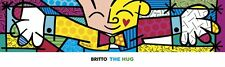 The Hug by Romero Britto Art Print Oversize Child Heart Pop Poster 60x18